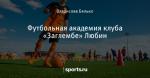 Футбольная академия клуба «Заглембе» Любин