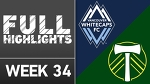 HIGHLIGHTS | Vancouver Whitecaps vs. Portland Timbers