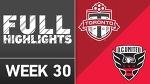 HIGHLIGHTS | Toronto FC 1-2 D.C. United