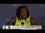Taurean Prince Provides Amazing Answer To ►[' How Did Yale Out-Rebound Baylor?? ']◄( HD720p60 FPS )