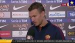 Edin Džeko sjajno govori italijanski jezik, izjava nakon meča (21.9.2016)