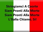 National Anthem of Italy