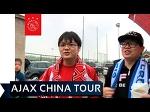 Warm welkom voor Ajax