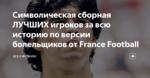 Символическая сборная ЛУЧШИХ игроков за всю историю по версии болельщиков от France Football