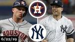 Houston Astros vs New York Yankees - Full Game Highlights   June 22, 2019   2019 MLB Season