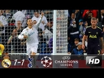 Real Madrid vs Tottenham Hotspur 1-1 | Highlights & Goals | 17/10/ 2017 - 720HD
