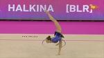 Katsyarina Halkina. 2017 European Championships. Qual. Hoop