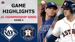 Tampa Bay Rays vs. Houston Astros Game 4 Highlights   ALCS (2020)