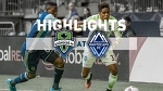 Highlights: Seattle Sounders FC at Vancouver Whitecaps FC