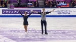 2015 Grand Prix Final. Pairs - SP. Ksenia STOLBOVA / Fedor KLIMOV