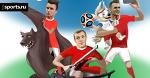 Русские забиваки готовятся к матчу против Уругвая
