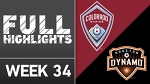 HIGHLIGHTS | Colorado Rapids vs. Houston Dynamo