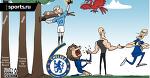 Манчестер Сити обыграл Челси 6:0, чтобы подняться на вершину дерева Премьер-Лиги