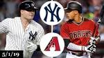 New York Yankees vs Arizona Diamondbacks Highlights | May 1, 2019