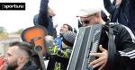 Фанаты саратовского «Сокола» продолжают импровизированный концерт на матчах команды