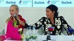 Пресс-конференция сборной России по художественной гимнастике