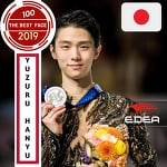 "SOCIAL MEDIA AWARDS on Instagram: ""Yuzuru hanyu (JAPAN) official nominee for the best face in 2019.  1) like your favorite nominated post  2) comment tags as much as possible…"""