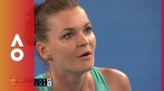 Agnieszka Radwanska rants with umpire | Australian Open 2018