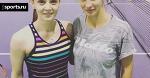 Леся Цуренко: «Спасибо Ане Чакветадзе за тренировку и советы»