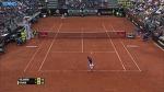 Ferrer Runs And Runs For Rome 2016 Hot Shot