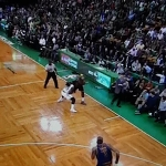 Here's the best angle of Perkins stupidity.