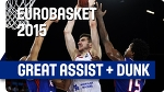 Russia Putting on a SHOW Against France! - EuroBasket 2015