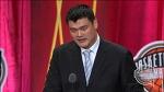Yao Ming's Basketball Hall of Fame Enshrinement Speech