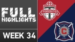 HIGHLIGHTS | Toronto FC vs. Chicago Fire