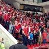 Фанаты «Спартака» украли флаг цска со скамейки «Красной Армии»