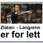 """Johannes Thingnes Bø on Instagram: """"Zlatan hadde iallefall gått rett inn som ankermann på det svenske stafettlaget i skiskyting😂🇸🇪"""""""