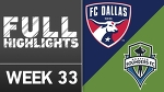 HIGHLIGHTS | FC Dallas 2-1 Seattle Sounders FC
