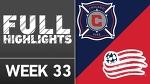 HIGHLIGHTS | Chicago Fire vs. New England Revolution
