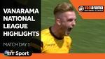 Vanarama National League Highlights Show - Match Day 1