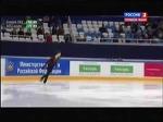 Чемпионат России по фигурному катанию 2015. Мужчины. Короткая программа. Адьян Питкеев