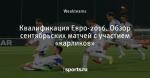 Квалификация Евро-2016. Обзор сентябрьских матчей с участием «карликов»
