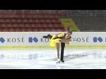 2015 ISU Jr. Grand Prix - Linz Pairs Short Program Amina ATAKHANOVA / Ilia SPIRIDONOV RUS