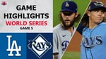 Los Angeles Dodgers vs. Tampa Bay Rays Game 5 Highlights   World Series (2020)