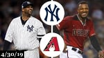 New York Yankees vs Arizona Diamondbacks Highlights | April 30, 2019