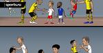 Боруссия Дортмунд в Бундеслиге vs Боруссия Дортмунд в Лиге Чемпионов