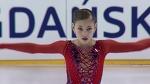 Alena KOSTORNAIA RUS Ladies Short Program - GDANSK 2017