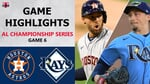 Houston Astros vs. Tampa Bay Rays Game 6 Highlights   ALCS (2020)