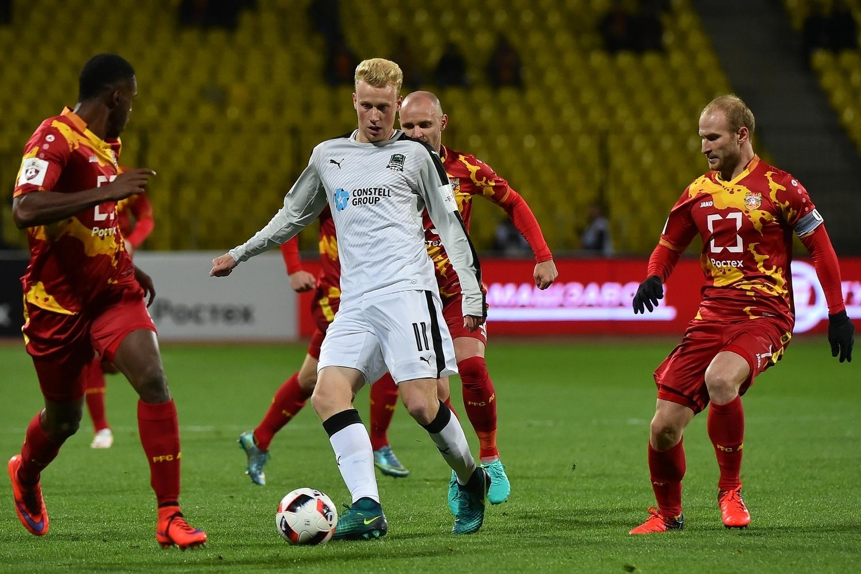 Краснодар - Арсенал Тула смотреть онлайн 14 апреля 2018