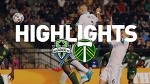 Highlights: Seattle Sounders FC at Portland Timbers | June 25, 2017