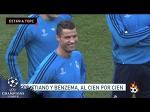 La felicidad de Cristiano Ronaldo antes de enfrentar al Manchester City • 2016