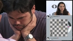 Round 6. Touch Move in game Aronian-Nakamura