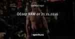 Обзор RAW от 21.11.2016