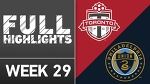 HIGHLIGHTS | Toronto FC 1-1 Philadelphia Union