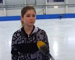Фигуристка Липницкая рассказала о тренировках и жизни в Сочи
