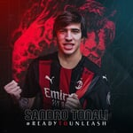 "AC Milan on Instagram: ""A Milanista born and bred joins the family 🔴⚫ #ReadyToUnleash #SempreMilan"""