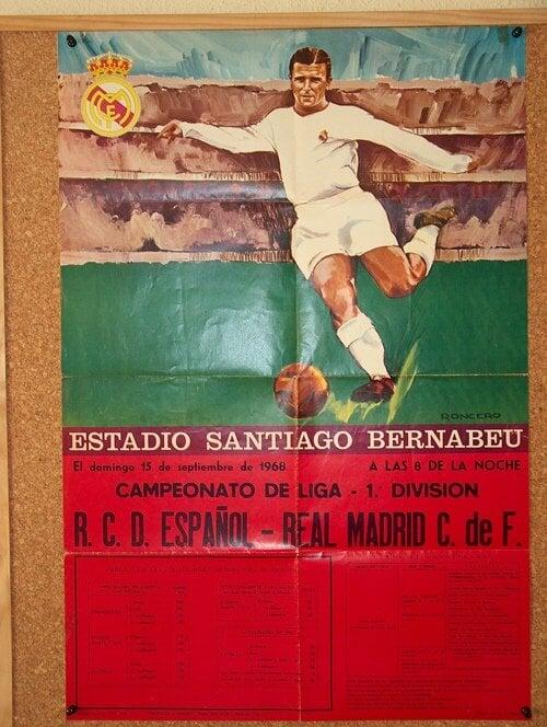 Афиша футбол испании